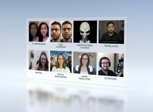 Nvidia представила технологию авто разворота головы собеседника в камеру систем ВКС
