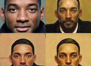 Нейросеть создает портреты людей из фото в стиле эпохи Ренессанса
